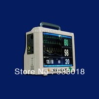 CE FDA Certified Veterinary Multi Parameter Patient Monitor,  ETCO2 3Y Warranty