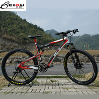 Beiou 27 carbon fiber mountain bike xt fox fork bo-cb043