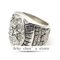 Free Shipping !replica 1992 Super bowl Dallas Cowboys American football championship ring as gift