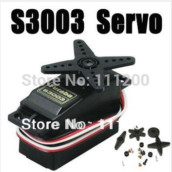 High Torque Futaba S3003 Standard NIB Servo for RC Car HPI Plane Boat Helicopter Analog Servo Free shipping Wholesale(China (Mainland))