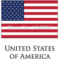 10pcs/lot  American U S flag hand signal flag