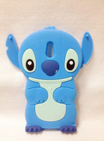 Lovely Stitch 3D Silicone Case For .Sony Xperia P LT22i High Quality Cell Phone Case Silicone