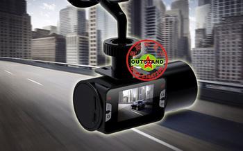 Electronic camera driving recorder car black box