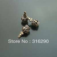 Wholesale DIY jewelry accessories 17 * 8 mm alloy crown  alloy accessoreis /jewelry Findings/pendent 50pcs/lot