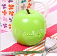 1PCS New Cute apple shape mini timer kitchen helper family must E270 Free shipping