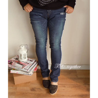 Tx-together plus size denim skinny pencil pants pants mm