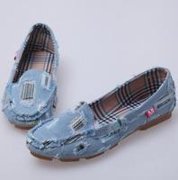 Женская обувь на плоской подошве 2013 embroidery tiger flats, shallow mouth round toe women's shoes