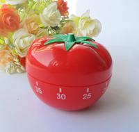 1PCS New Cute Small Tomatoes shape mini timer kitchen helper family must E281 Free shipping