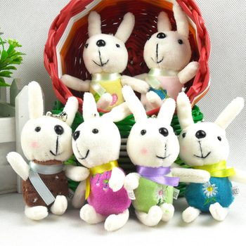 Lamy rabbit small wedding gift cloth doll plush toy bag mobile phone bag Pendant Children's toys