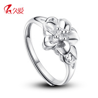 Free shipping 925 pure silver ring female taohuajiangriver ring female fashion pure silver finger ring silver opening