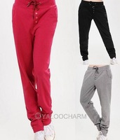 Casual Leisure Women Sweat Pants Sports Harem Hip-Hop Pants Trousers Dancing Acitve Pants 71310-71324