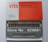 1 Set VITA Porcelain Teeth Denture Oral Dental 16 Color Shade Guide