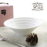 Hety . puddles bowl salad bowl nothings ice soup bowl ceramic fashion west tableware drum line bowl