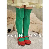 20pairs/lot Candy girl's dancing stocking  knee-high leg warmer children footwear Free Shipping