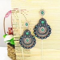 Latest Vintage Statement Earrings of Bohemia Style Women Big Jewelry Free Shipping Nickel Free 1102821