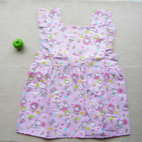 1 pcs High Quality High Quality,Babies Cotton Bibs/Feeding/Baby Smock/ Kids overclothes/Waterproof/Sleeveless for Age 0-5