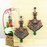 Latest Vintage Statement Earrings of Bohemia Style Women Big Jewelry Free Shipping Nickel Free 1101405