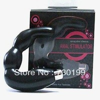 2.5*9.8*13.5cm luxury g spot anal stimulator,  vibrating prostate massager, vibrator masturbator sex toy for men s232