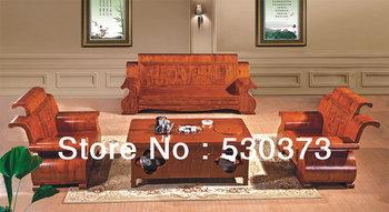Stylish and luxurious modern minimalist multifunction wood sofa