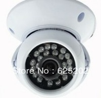 24pcs IR Night Vision Sony CCD Indoor Color  Dome Camera 3.6/6mm CS lens DR1115