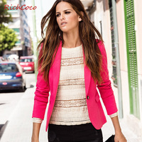 Candy Colorful Autumn -summer Shorts Women blazer 2013! Causal Suits for Women! Free Shipping!
