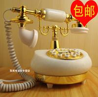 Marble antique telephone fashion vintage telephone caller id telephone fashion