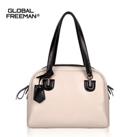 high quality 2013 fashion deisgner brand women's genuine leather handbag cowhide tote shoulder bag for lady wholesale GF1310