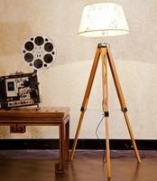 European American High End Classic Bamboo Large Tripod/Triangle Floor Lamp,Floor Lighting Indoor Lighting Fixtures Free Shipping