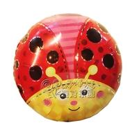 Lovely small ladybug aluminum foil balloon party supplies child birthday aluminum balloon  Free Shipping
