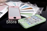 Bling Diamond Full Body Fashion fiber Sticker for iPhone4 4s with retail package, 100pcs/lot free shipping