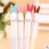 8264 Free Shipping Hello Kitty Pen,Cartoon Rabbit Gel Pens,Luxury Pen,Designer Pen,Korean School Supplies