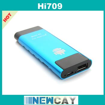 Android 4.1.1 Mini PC Hi709 Dual Core RK3066 Cortex A9 Stick HD Multi Media Player TV Dongle