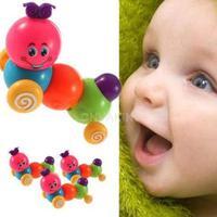 #Cu3 Cute Wind up Carpenterworm Cutworm Clockwork Spring Bug Children Toy