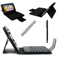 Removable Black Bluetooth V3.0 Keyboard Case For Samsung Galaxy Tab 2 7.0 P3100 P3110