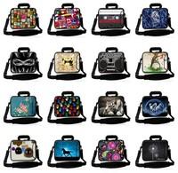 "Sales 17""Laptop Soft Carry Sleeve Bag Case+Shoulder Strap,Pocket For 17"" Dell Alienware m17x R3,Macbook Pro HP Compaq Sony VAIO"