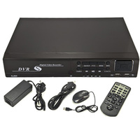 CCTV 8CH H.264 DVR Recorder 960H Network Digital Video Recorder HDMI IE Monitor