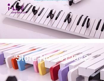 Creative Piano sharp MDF floating wall shelves/shelf wall mount diy furniture free shipping