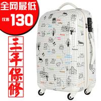 Doodle trolley luggage travel bag