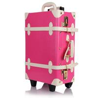 Ito vintage box 24 trolley luggage travel bag luggage bag 20 female
