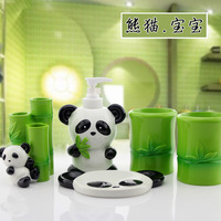Bathroom set five pieces set of bathroom gift fashion resin bathroom accessories kit