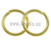 Free shipping!!!Iron Closed Jump Ring,Tibetan Jewelry, Donut, gold color plated, nickel, lead & cadmium free, 0.90x8mm