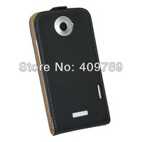 For HTC One X Genuine Flip Leather Case