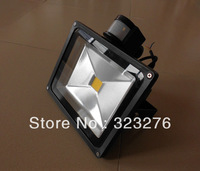 Free shipping Outdoor lamp PIR Motion Sensor Light lighting AC85V-265V landscape LED Flood Light  Waterproof high power