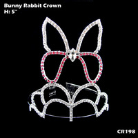 Rabbit Crown Holiday Easter Day Tiara CR198