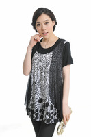 New arrival elderly clothing - bling 8033