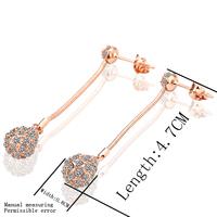 chandelier earrings for women long earrings jewelry wholesale crystal earring fashion accessories(Min order 15)