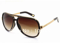 2013 new Trendy Style MJ Sunglasses Luxury Men's Metal frame sunglasses UV UVA Men's Coffee Oversize Sunglasses Wholesale Price