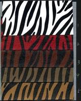 Leather fabric zebra print soft bag sofa handbags leather diy skin wear-resistant print