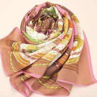 LUXURY Scarf 100% Silk branded designer scarves women, best gift, shawl wrap ring scarf  autumn 2013 women Free Shipping