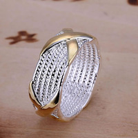 X Ring 925 silver ring,high quality ,fashion jewelry, Nickle free,antiallergic rrps albo